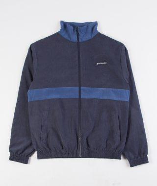 track jacket navy blue