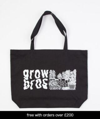 grow bros tote bag