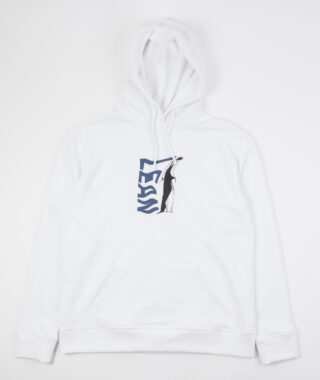 lean hood white