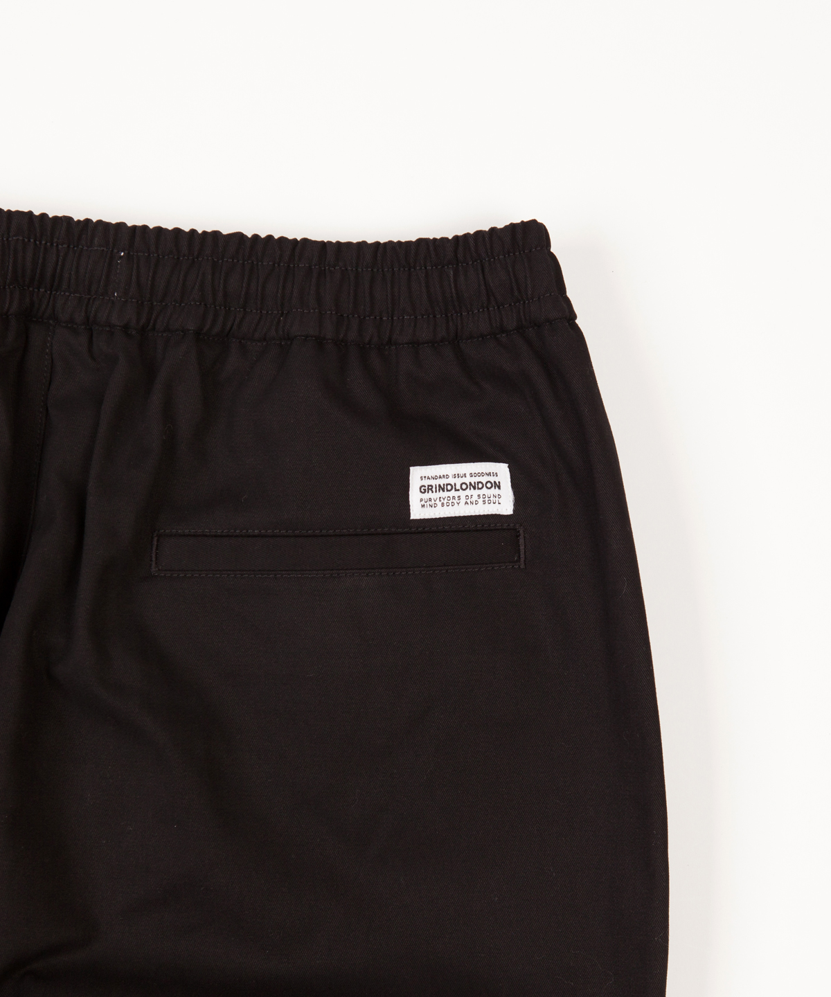 relaxed cotton trouser detail 2