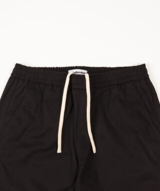 relaxed cotton trouser detail