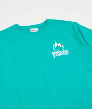 burn tee green 3